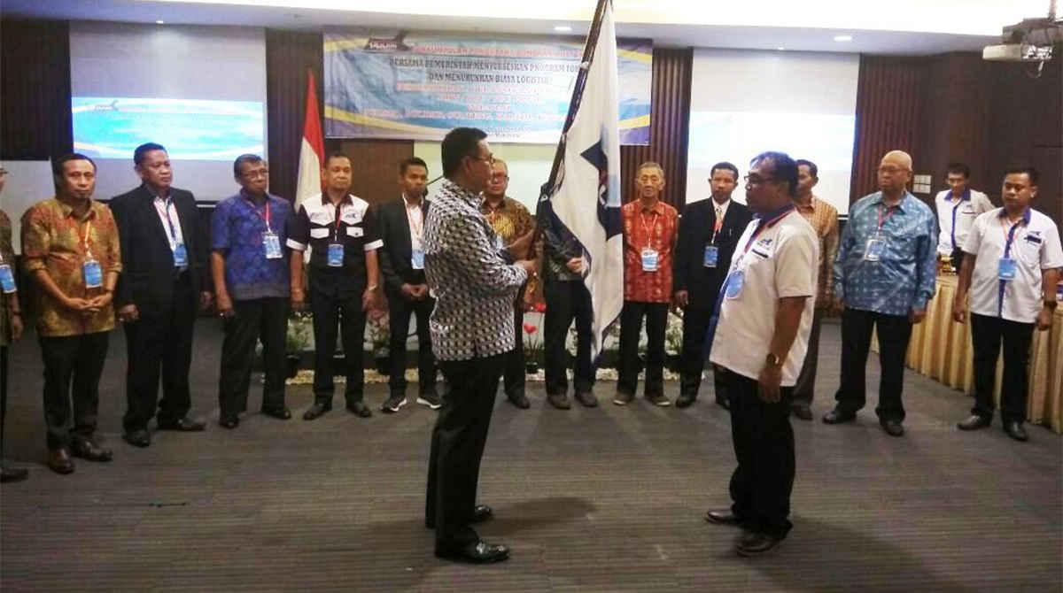 Pengukuhan/Pelantikan Pengurus DPW/DPC/PPC Perkumpulan Pengusaha Bongkar Muat Indonesia (PPBMI)