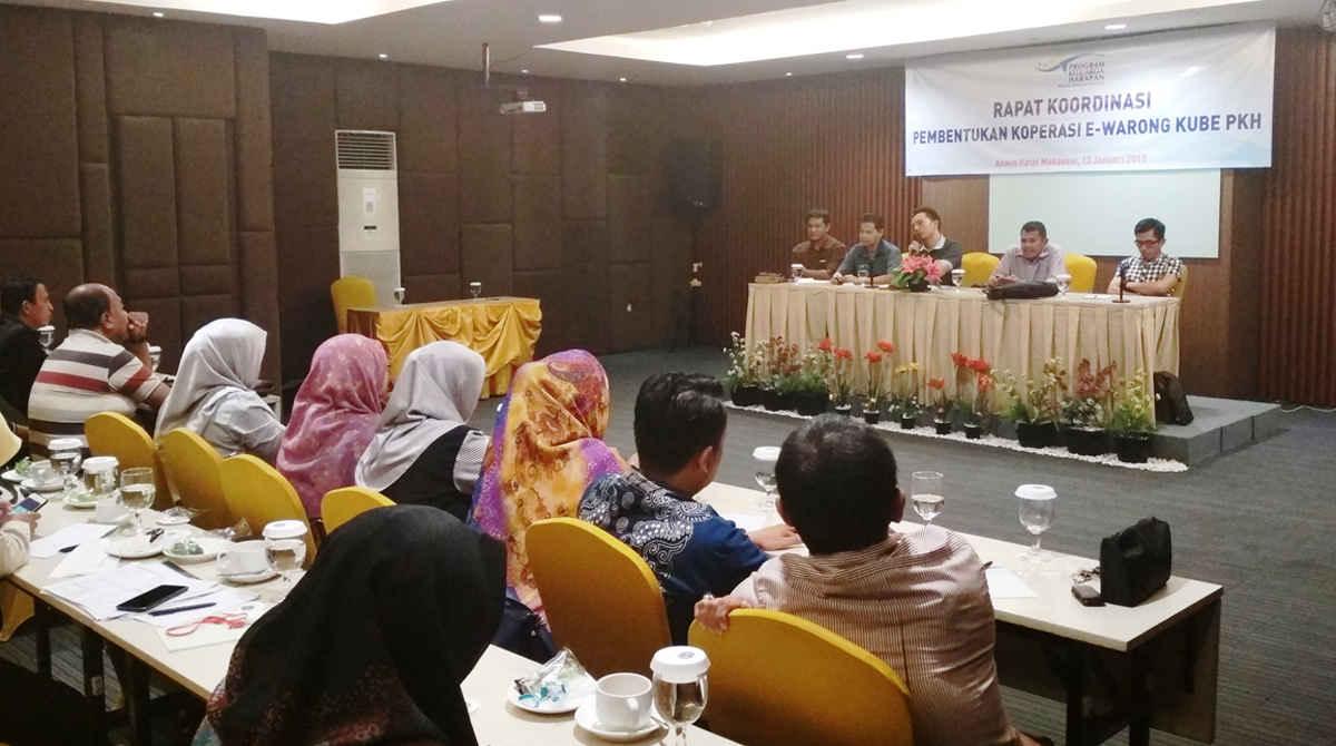 Rapat Koordinasi Pembentukan Koperasi E-Warong KUBE PKH