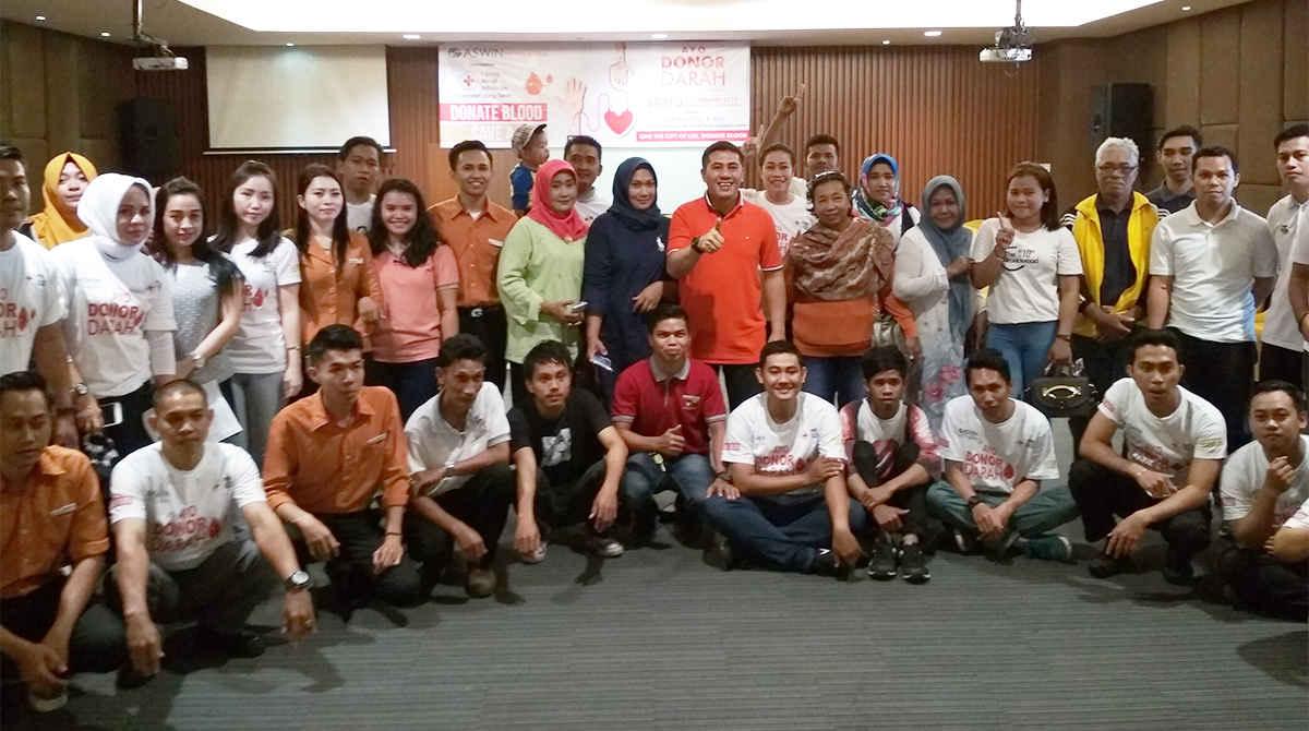 Aswin Hotel & Spa Bersama PMI Gelar Kegiatan Donor Darah