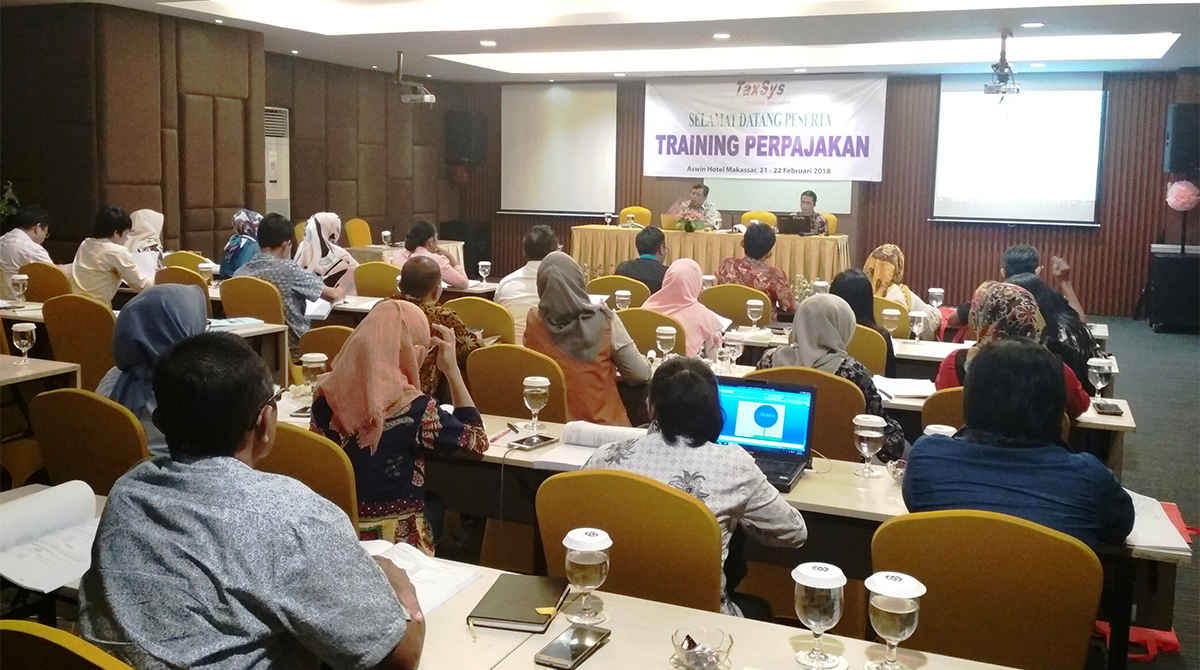 Kegiatan Training Perpajakan oleh TaxSys Indonesia