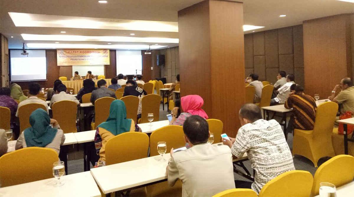 Rapat Koordinasi BPBD Provinsi Sulawesi Selatan