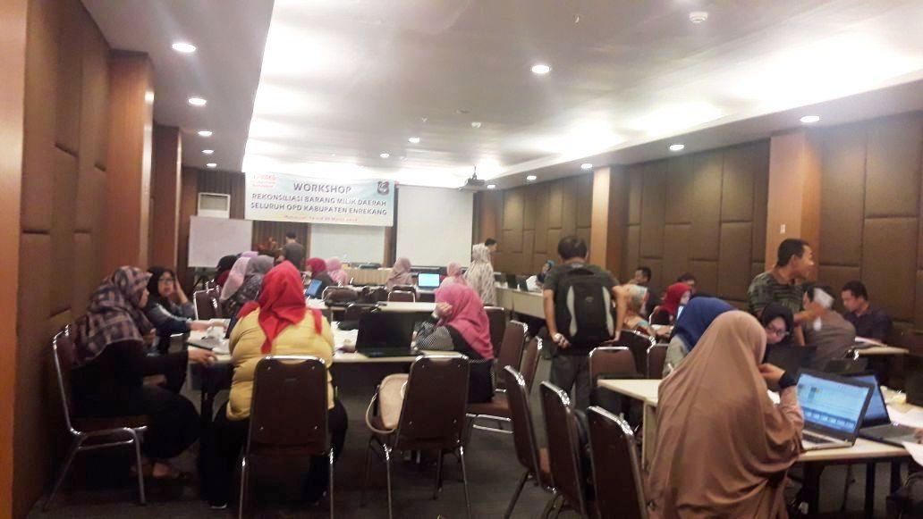 Workshop Rekonsiliasi Barang Milik Daerah Kabupaten Enrekang